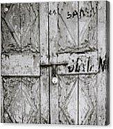 The Old Door Acrylic Print