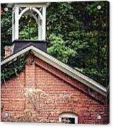 The Old Erie Schoolhouse Acrylic Print