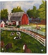 The Old Farm Acrylic Print