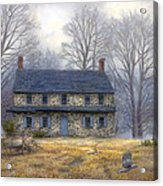 The Old Farmhouse Acrylic Print