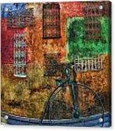 The Old Fashion Bike Acrylic Print