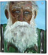 The Old Fisherman Acrylic Print