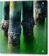 The Old Fishing Pier Acrylic Print