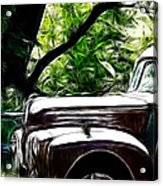 The Old Ford Truck Acrylic Print