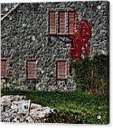 The Old Fort Bristol Rhode Island Acrylic Print