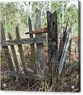 The Old Gate Could Use Some Oil. Acrylic Print