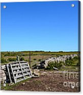 The Old Gate Acrylic Print