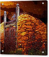 The Old Gates Of Galisteo Acrylic Print