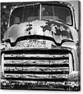 The Old Gmc Truck Acrylic Print