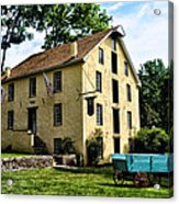 The Old Grist Mill  Paoli Pa. Acrylic Print