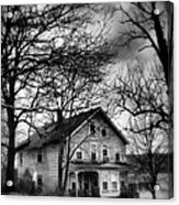The Old House Down The Street Acrylic Print