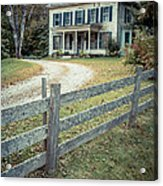 The Old House On The Hill  Acrylic Print