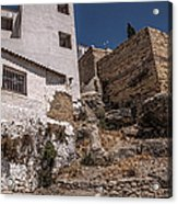 The Old Houses Of Ronda. Andalusia. Spain Acrylic Print