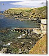 The Old Lizard Lifeboat Station Acrylic Print