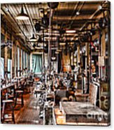 The Old Machine Shop Acrylic Print