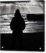 The Old Man And The Sea Acrylic Print