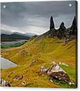 The Old Man Of Storr Acrylic Print
