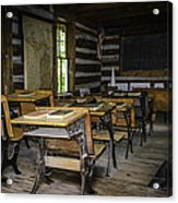 The Old Mikado Bailey School House Acrylic Print