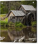 The Old Mill After The Rain Acrylic Print