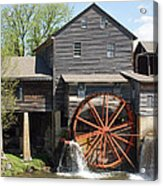 The Old Mill In Pigeon Forge Acrylic Print