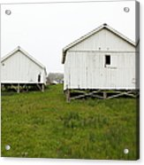 The Old Pierce Point Ranch At Foggy Point Reyes California 5d28140 Acrylic Print