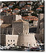 The Old Port Of Dubrovnik Acrylic Print