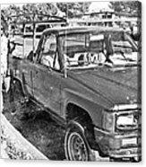 The Old Retro Truck Acrylic Print