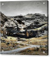 The Old Road Acrylic Print