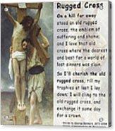 The Old Rugged Cross Acrylic Print