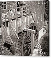 The Old Saw Mill Acrylic Print by Edward Fielding