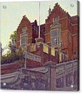 The Old Schools, Harrow Oil On Canvas Acrylic Print