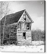 The Old Shack Acrylic Print by Gary Heller