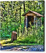 The Old Shed Acrylic Print by Cathy  Beharriell