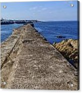 The Old Shipyard Pier Acrylic Print