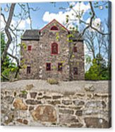 The Old Sone Barn At The Highlands Acrylic Print