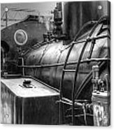 The Old Steam Train Acrylic Print