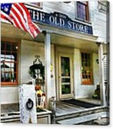 The Old Store Acrylic Print