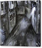 The Old Street Acrylic Print by Jamil Alkhoury