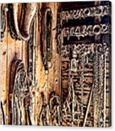 The Old Tack Room Acrylic Print by Olivier Le Queinec