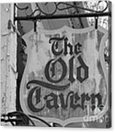 The Old Tavern Acrylic Print