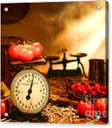 The Old Tomato Farm Stand Acrylic Print
