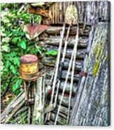 The Old Tool Shed Acrylic Print by Lanita Williams