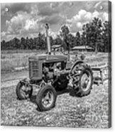 The Old Tractor Acrylic Print