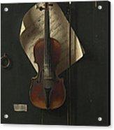 The Old Violin Acrylic Print