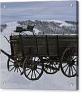 The Old Wagon Acrylic Print