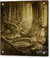 The Old West Acrylic Print