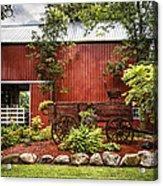 The Old Wood Cart Acrylic Print