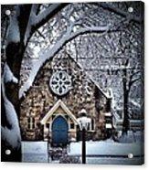 The Olde Stone Church Acrylic Print