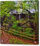 The Ole Mill Acrylic Print