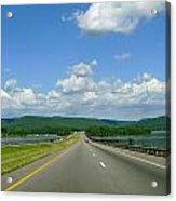 The Open Highway Acrylic Print